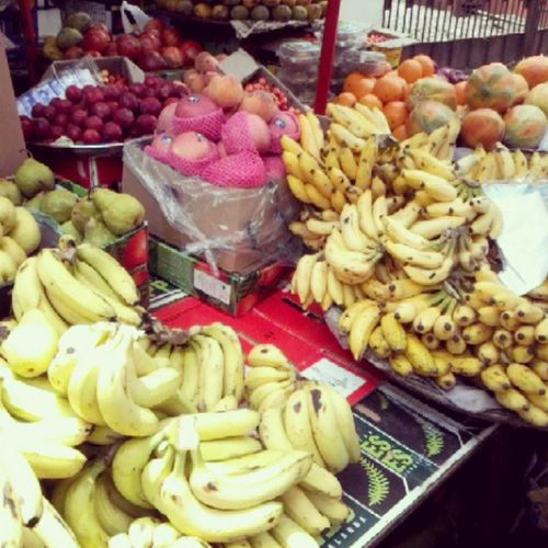 Fruit stall Fruit Food Food_And_Drink Healthyeating Stall Banana