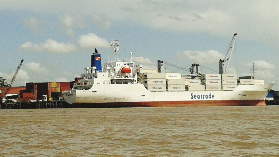 Open Edit Tourism Ship Shipping  Sailing Ship Cargo Ship Cargoship Atlantic Ocean Ocean Oceanside