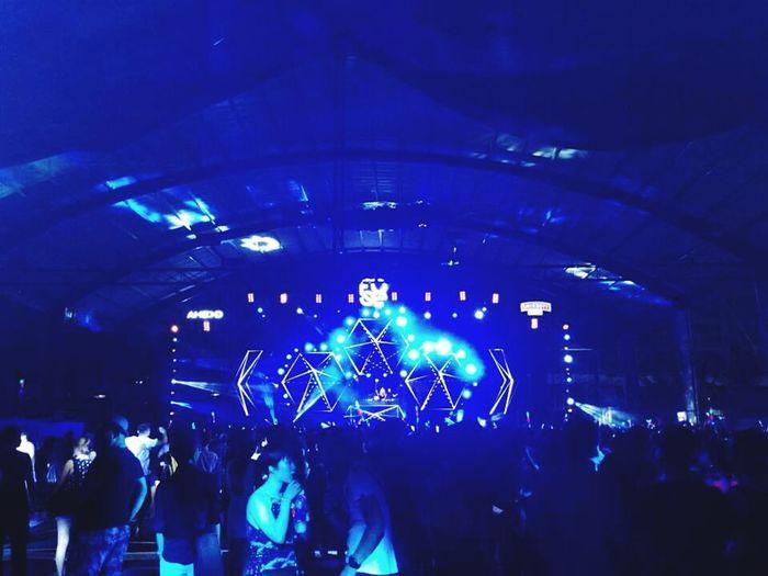 DJ Night Dj Concert In Vietnam Dancing :)