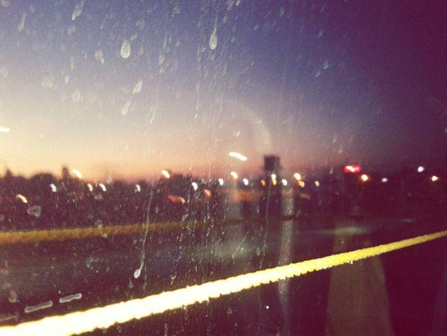 Enjoying Life Onmywayout✌✌ MumbaiPuneExpressway Raindrops Lovely Weather Romantic❤