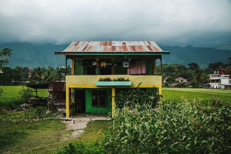 Lake Toba home