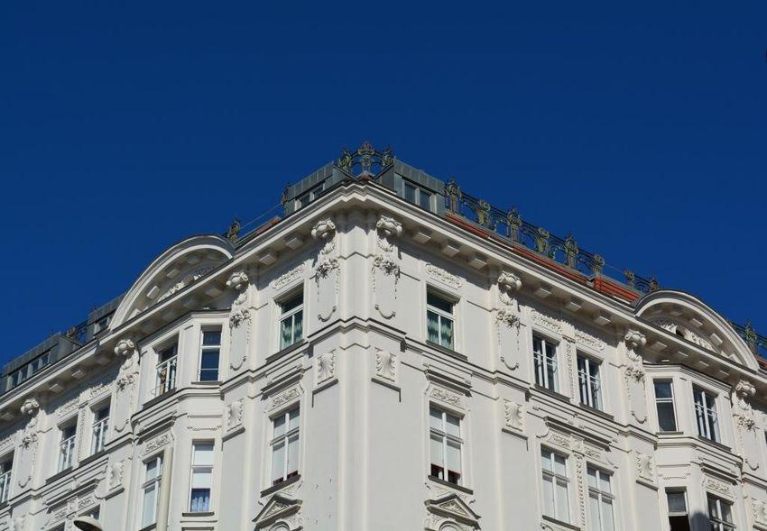 Architecture Vienna Blue Sky Cityscape