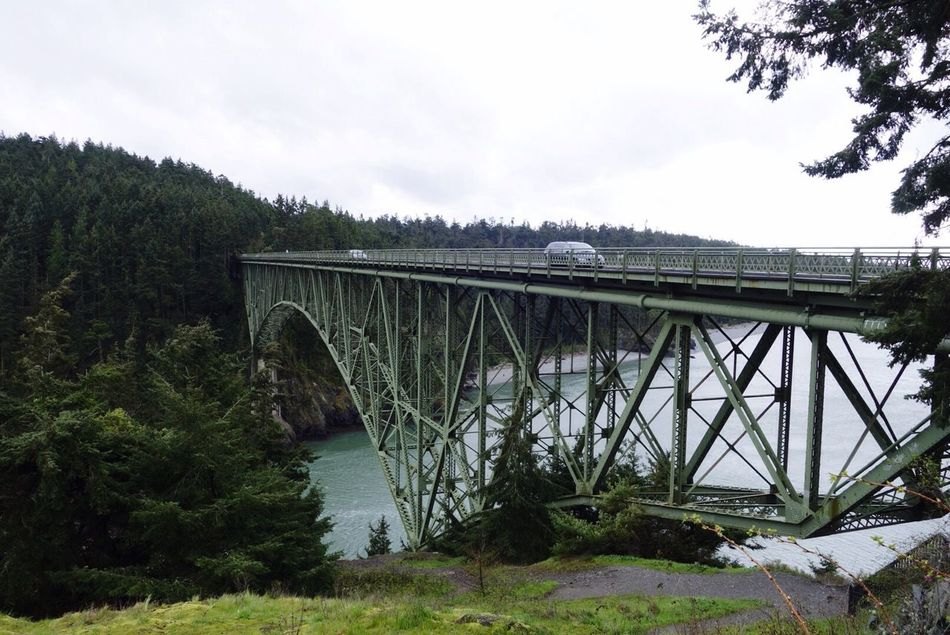 Deception Pass Great Views My View On The Road Bridge Washington United States