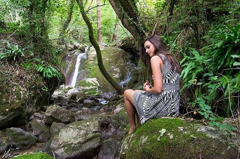 The Nymph Autumn Fall Nymph Creek Waterfalls Stream Brook Girl Wildgirl Fairy Fairytale  Italy Veneto Lusiana Nature Naturelovers Adventure Wildlife Hike Exploring Wanderlusting Visitveneto Igersveneto Igersvicenza Igveneto igersitalia