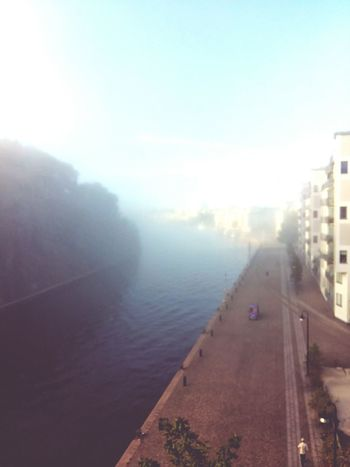 Foggy morning in my beautiful town. Check This Out