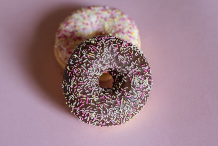 Donut in front