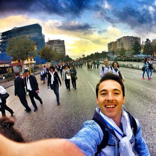 Popefrancis InAlbania21September2014 Tirana Albania