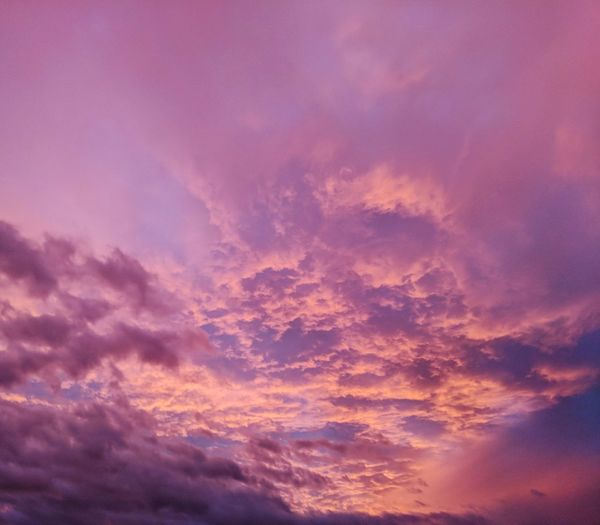 Sky Sunset Dramatic Sky Pink Color Landscape Outdoors Backgrounds Nature