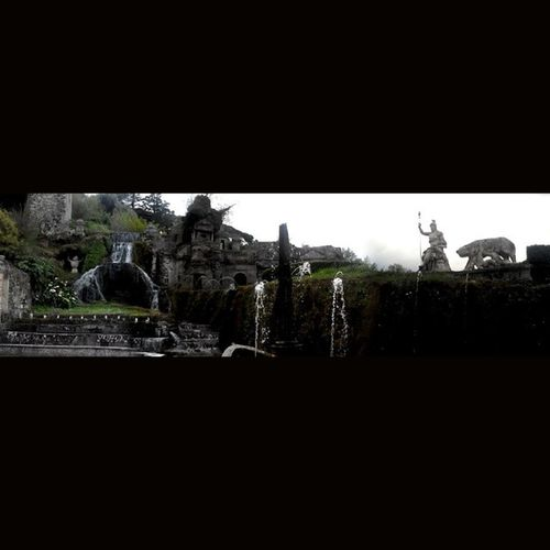 Тиволи вспоминаяотпуск Вилла 100 фонтанов