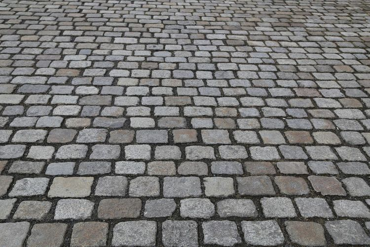 Arrangement Backgrounds Close-up Cobblestone Day Elevated View Footpath Full Frame In A Row No People Outdoors Pavement Repetition Stones