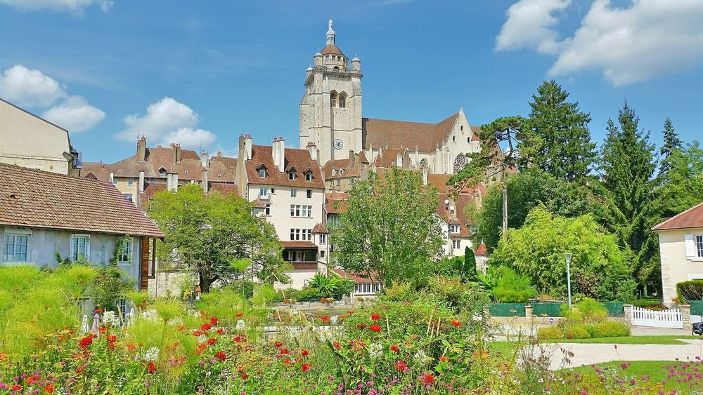 France Franchecomte Dole Architecture Built Structure Building Exterior Travel Destinations Sky Clock Tower Environmental Conservation History No People Tree Social Issues Outdoors Nature Clock Day Cultures Dritphoto