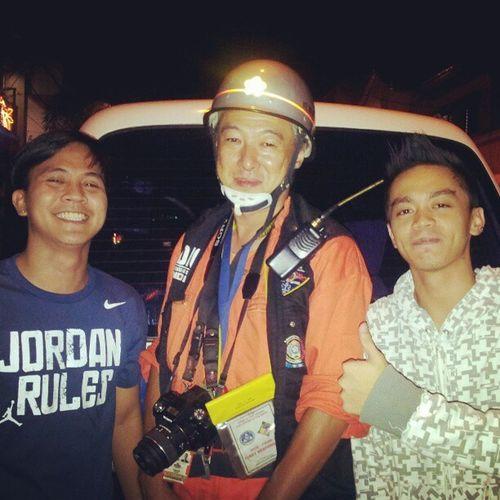 We salute you sir! Emergency Emt Lifesaver Japanese  philippines buddy idol