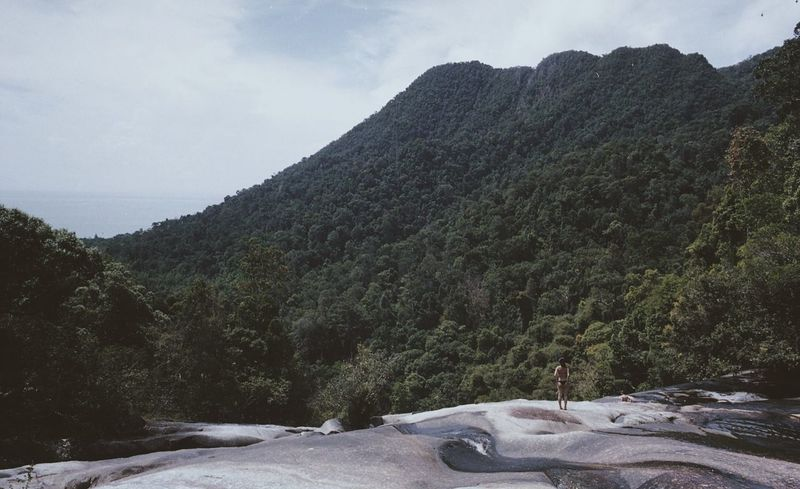 👙 Believeinfilm Scenics Outdoors Mountain EyeEmMalaysia EyeEm Malaysia Filmisnotdead Filmcamera Film Photography Kodak Portra Bikini