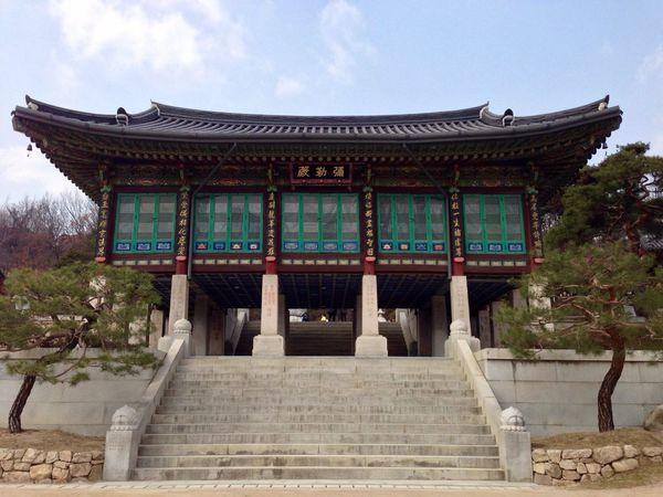 Bongeunsa Temple Seoul South Korea Traveling Buddhism Cityscapes