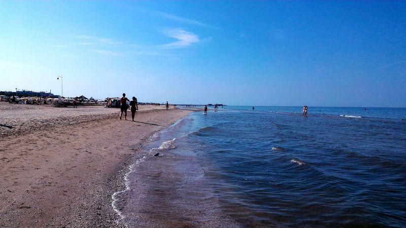 Smell Of Summer Profumo D'estate Beach Sea Sand Water Sky People Nature Horizon Over Water Vacations Outdoors Blue Vacanze Happiness Freedoom  Barefoot Piedinudi Bikini MyRimini Iloverimini Vivorimini