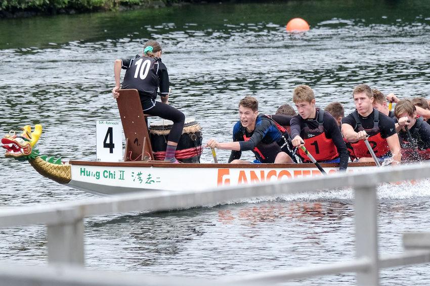 Boat Dragonboat Friendship Water