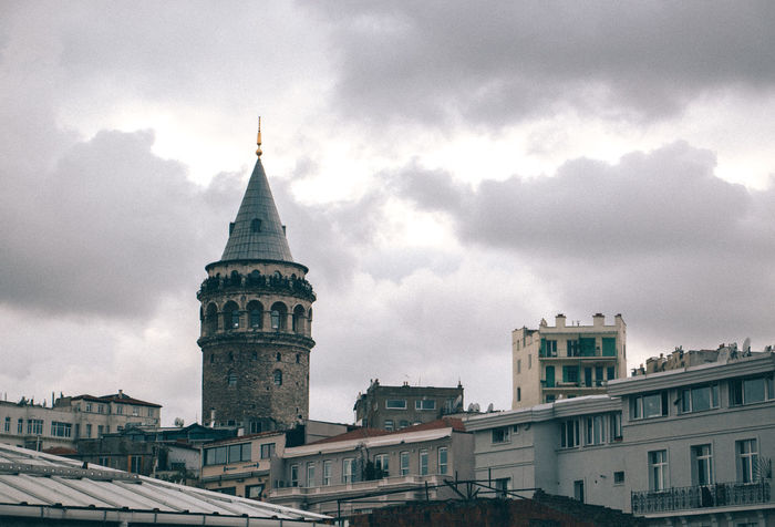 Architecture Canon 70d Canonphotography City Cityscapes Clouds EyeEm Galata Tower Istanbul Lightroom Sky Turkey VSCO