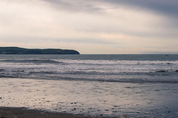 Beach Clouds Day Daylight Horizon Over Water Landscape Ligth Sea Sky Surf Light Beachphotography Horizon Devon Uk England🇬🇧