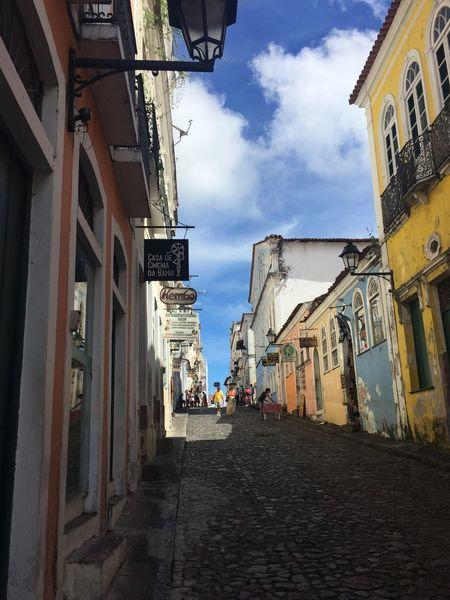 Pelourinho Brazil Salvador Street