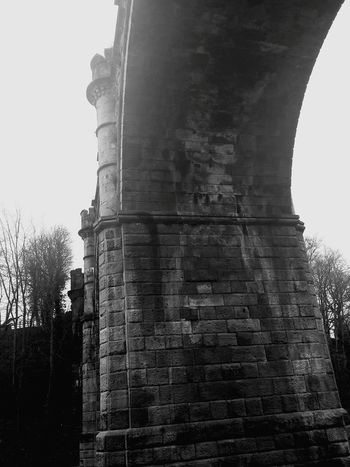 No Edit Viaduct Under A Viaduct Beautiful Black And White Photography Knaresborough River Nidd Smart Simplicity