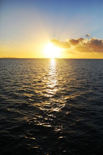 Sky Water Sea Sunset Beauty In Nature Scenics - Nature Horizon Over Water Horizon Nature Sunlight