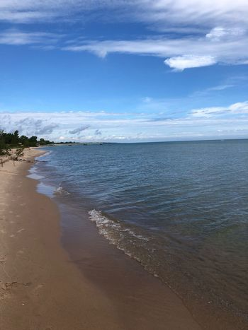 Life is a beach Beach Water Sky Land Beauty In Nature Cloud - Sky Scenics - Nature Tranquil Scene Horizon Over Water Sand Day Outdoors No People