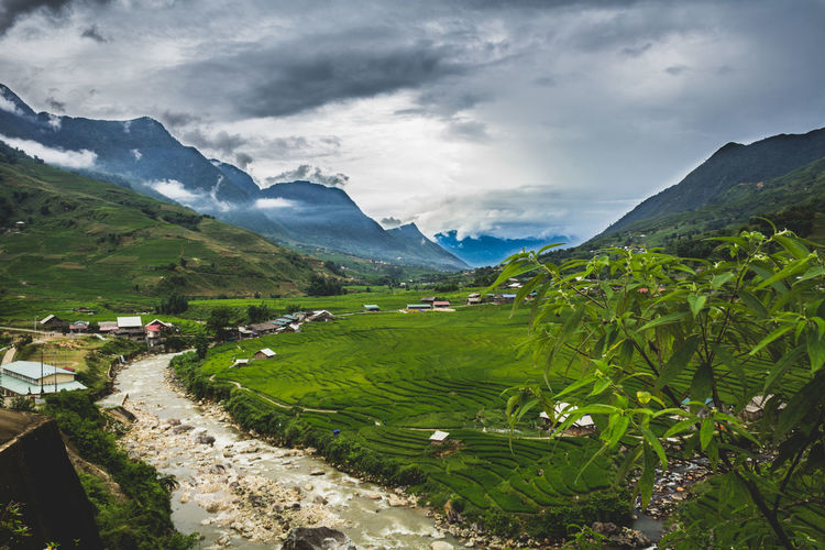 Landscape shot from Sapa, Vietnam. ASIA EyeEm Best Shots Green Color Tranquility Travel Travel Photography Vietnam Eyemmarket Eyemphotography Eyeyem Travel Collection Landscape Mountain Range Mountains Mountains And Sky Travel Destinations Travel Photos