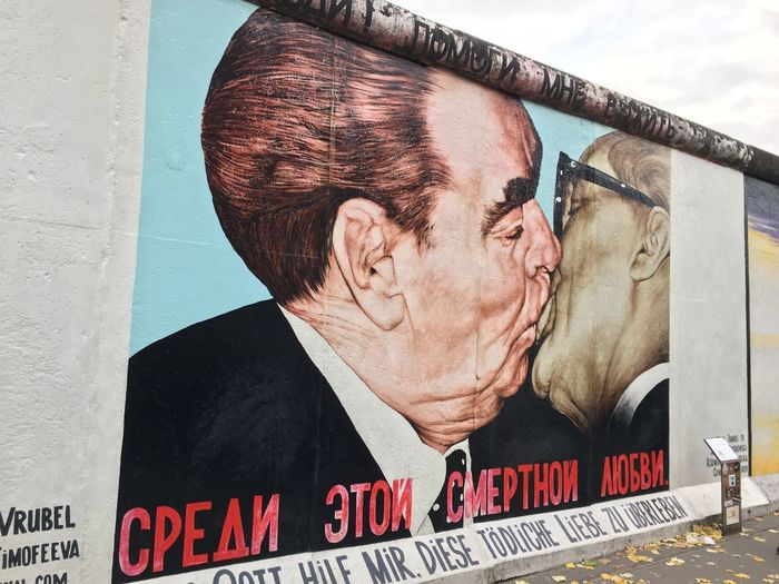 Text Outdoors Day Architecture Berlin East Side Gallery Famous Place