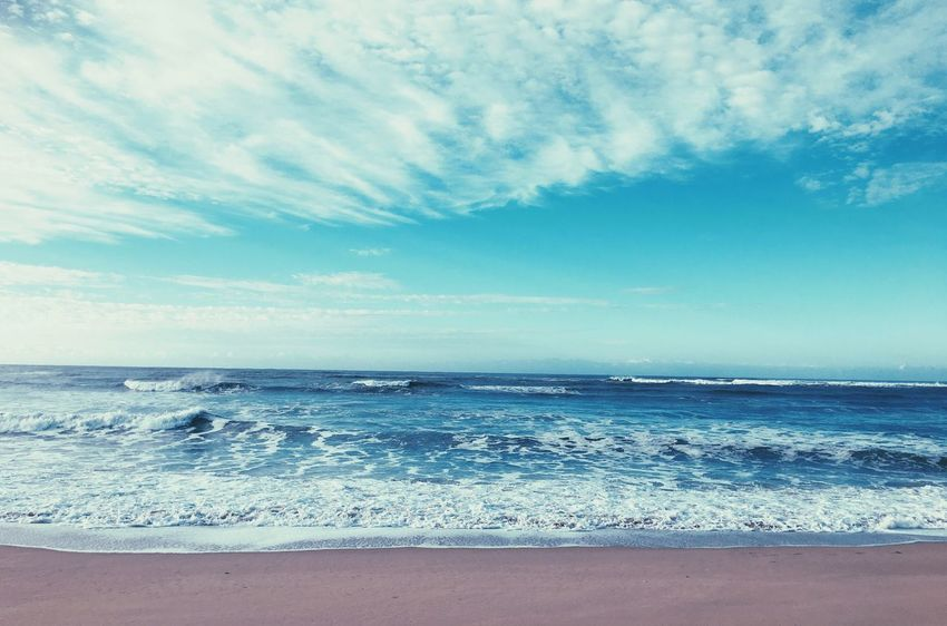 Color Palette Sea And Sky Port Alfred Beauty In Nature Beach Beautiful Day Beach Photography Beachphotography