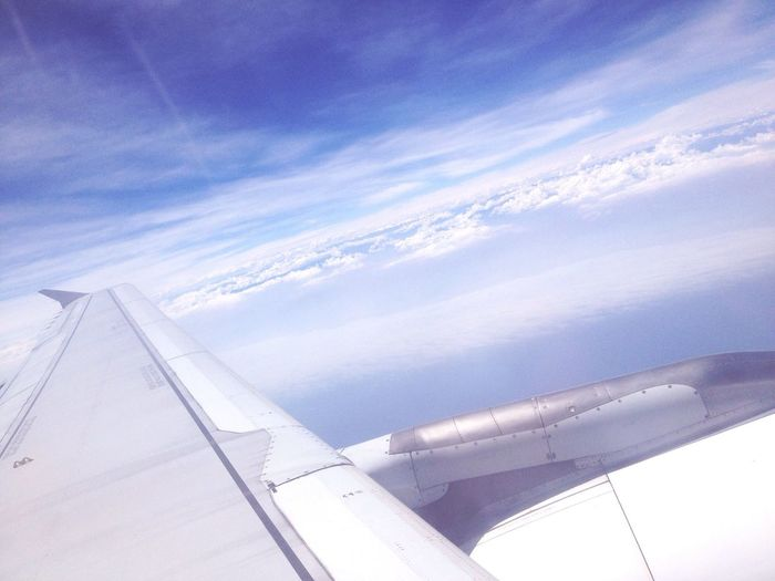 Airplane Flying Fly Away Flying High #Lima Tacna #Perú Blue Sky Travel