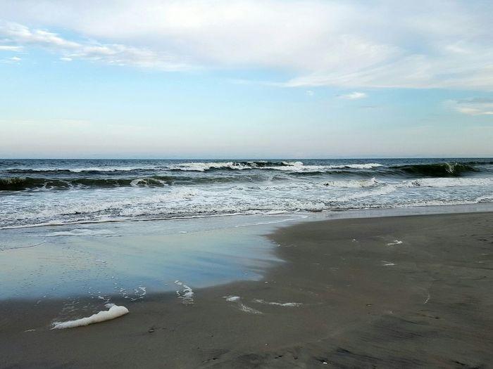 Seabubbles Beach Waves Ocean Eastcoast Coastal Carolina Summer Vacation The Great Outdoors - 2017 EyeEm Awards Live For The Story