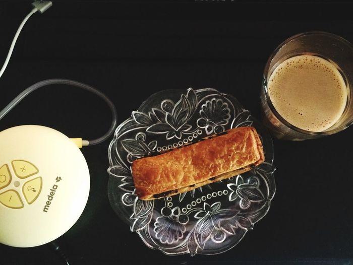 Soldier on. Coffee Time Medela Chocolate Danish Unhealthy Breakfast Taste So Good EyeEm Best Shots