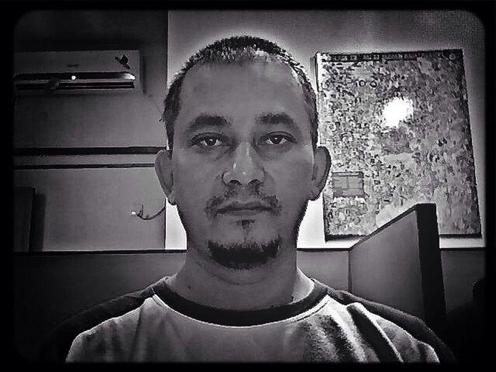 me Blackandwhite Selfpotrait Jakarta
