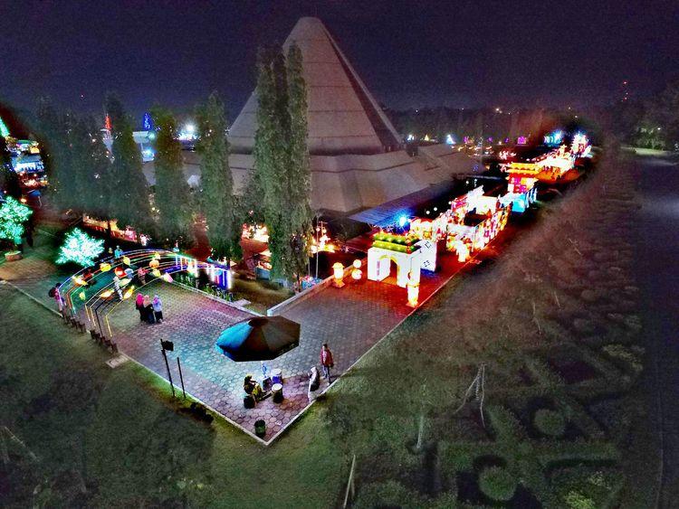 When the monument and playground mix and match. Monjali Monumen Jogja Kembali Yogyakarta INDONESIA Dji Pilot