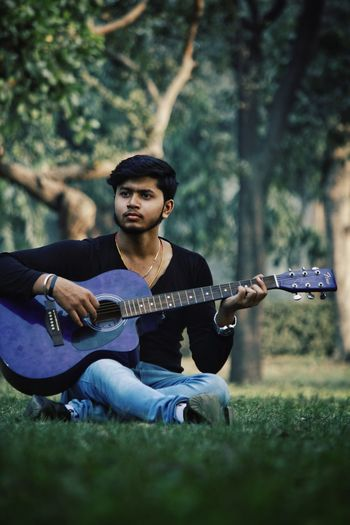 Rahul - Abshine photography Rahul Abshine Abshine_photography Canon Canon1200d Canonphotography Delhi Photography Photographyoftheday Picoftheday DSLR Camera Music Guitar Plucking An Instrument Arts Culture And Entertainment Musical Instrument Playing Guitarist Musician String Instrument Acoustic Guitar Casual Clothing Singing