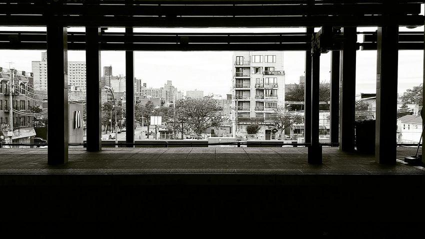 Subway Platform Blandwhite In The Distance