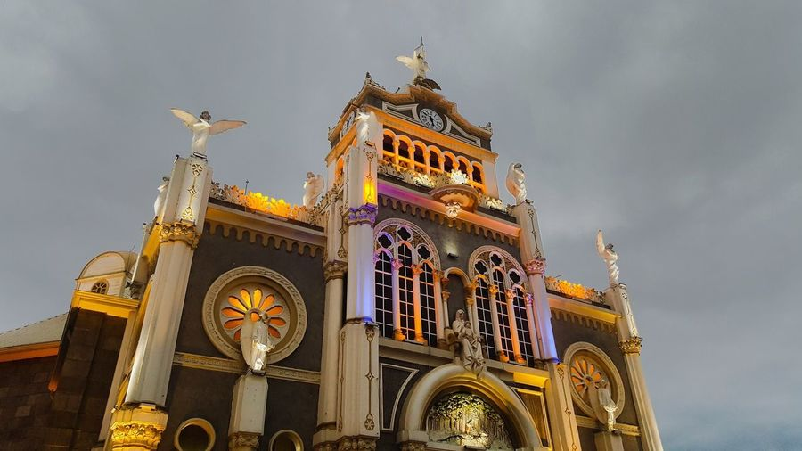 Cartago Low Angle View Sky Architecture Built Structure Belief Religion Building Exterior Place Of Worship Building Gothic Style