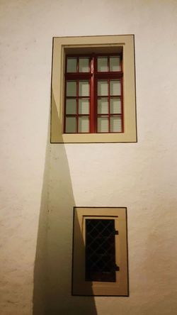 Built Structure Building Exterior Architecture Wall - Building Feature Window Frame Façade Low Angle View Window Geometric Shape Red Battle Of The Cities