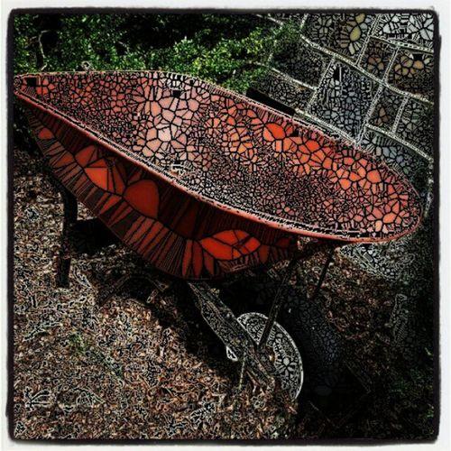 Variation on a wheelbarrow. Wheelbarrowrevisited Mosaicfilter Fall