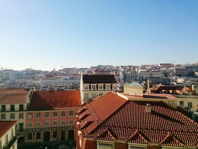 Lisboa Rooftops Sunshine Lisbon