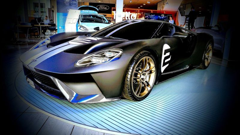 Indoors  No People Day Close-up Ford GT Supercar Ford Showroom Cars Transportation