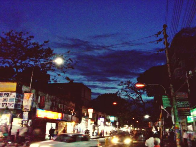Discover Your City Dhaka Mohammadpur Evening Sky