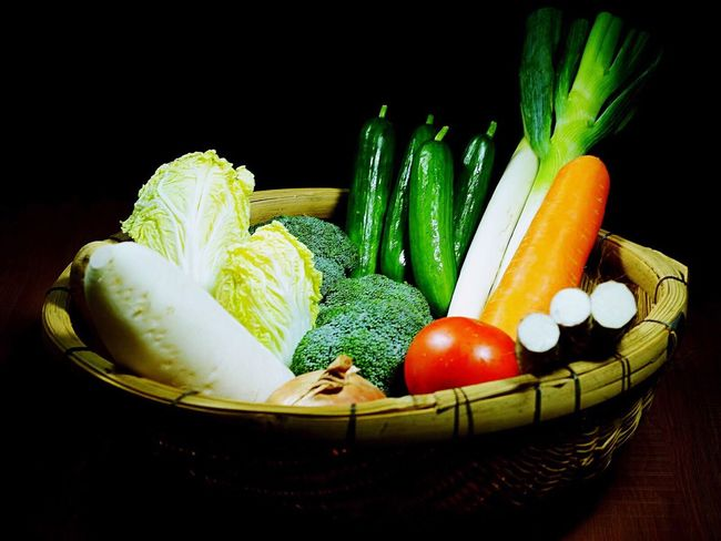 Vegetable Healthy Eating Freshness Food And Drink Food Raw Food Black Background Organic Variation Studio Shot Green Color Indoors  Cauliflower No People Squash - Vegetable Close-up Artichoke Day