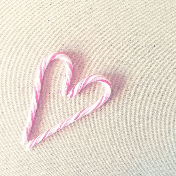 Candy Pastel Love Heart Shaped