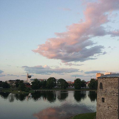 Slott Kalmar Sea Summer sun semester