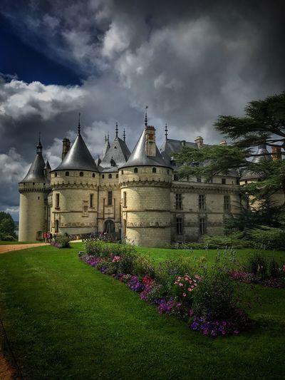 The Week On EyeEm Breathing Space Architecture History Travel Destinations Flower Castle Château De Chaumont-sur-Loire Chateaux