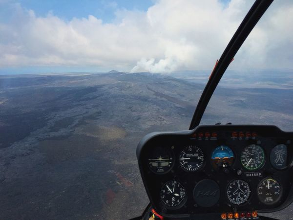Adventure Club Hawaii Volcanoes National Park Helicopter Volcano Big Island Hawaii