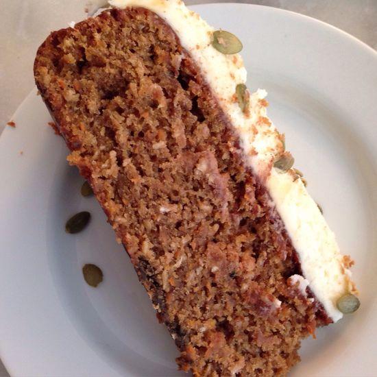 Things I Like Carrotcake Pumpkinseeds April Showcase Cake