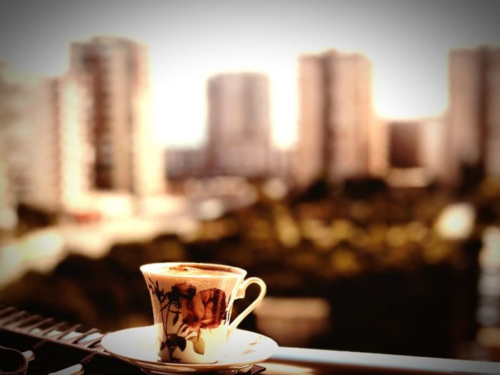 Türk kahvesi keyfi.. Cup Drink Food And Drink Mug Coffee Coffee Cup Coffee - Drink Saucer Architecture Hot Drink Still Life Refreshment Focus On Foreground Building Exterior No People Close-up Building Table Crockery Built Structure