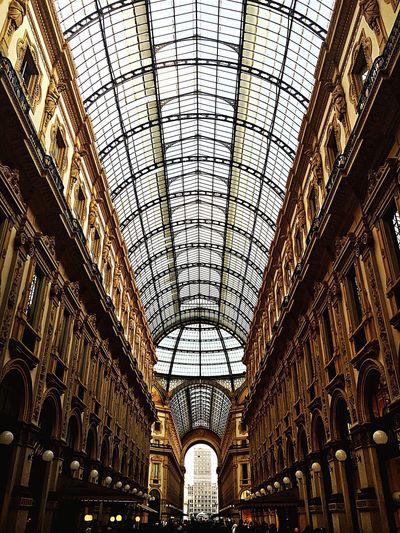 Interior Of Galleria Vittorio Emanuele Ii